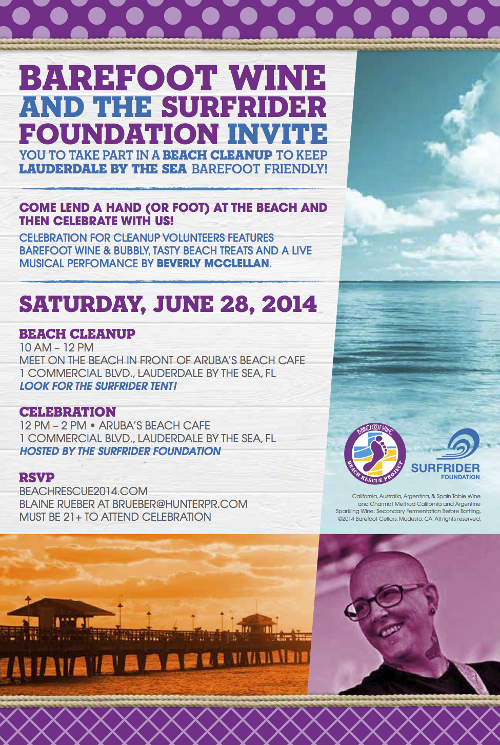 Barefoot Beach Cleanup & Celebration June 28th!